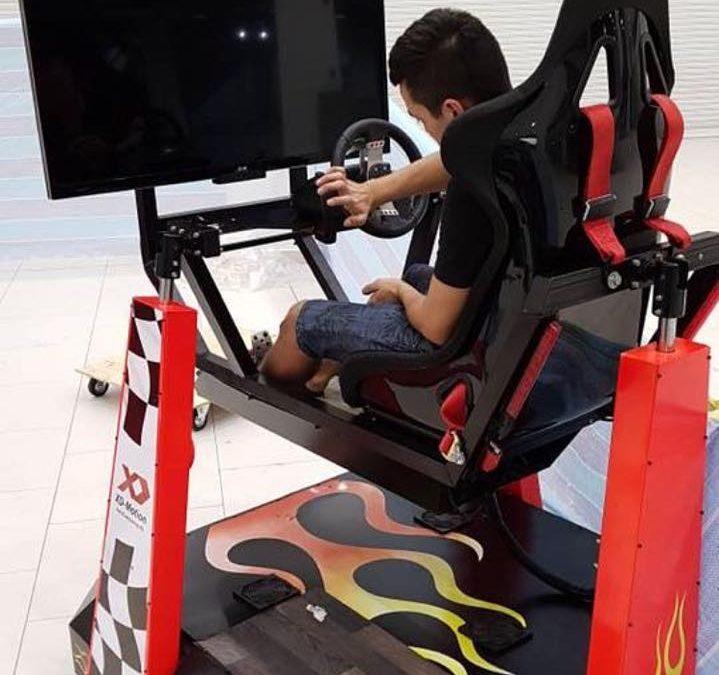 XD Motion аттракцион VR в Сингапуре